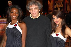 David Sasseman with Rounder Magazine Girls