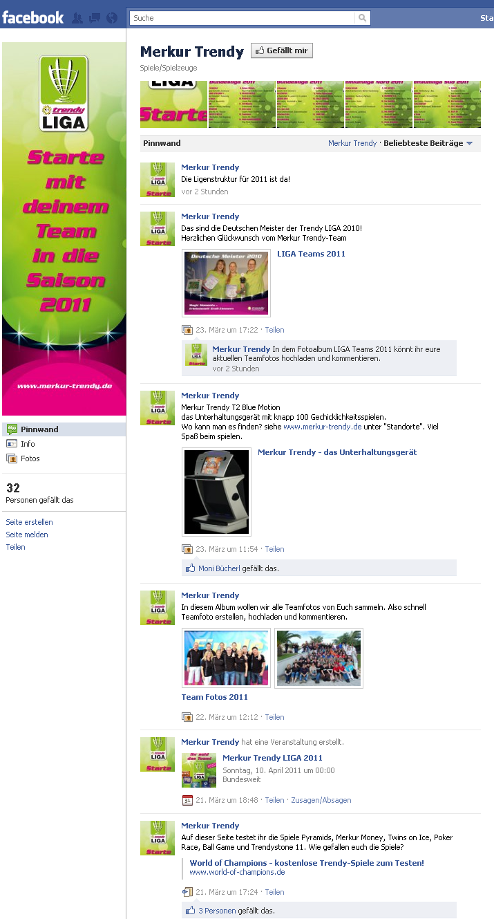 Merkur Facebook