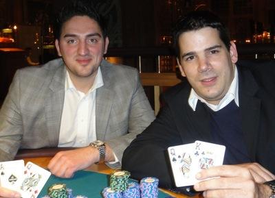 Die Turniersieger Seyfettin Dogan (1) und Nenad Agbaba (2)