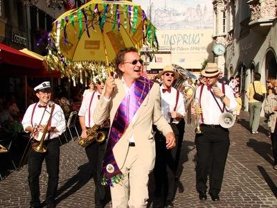 New Orleans Festival (Foto: Stadtmarketing Innsbruck)