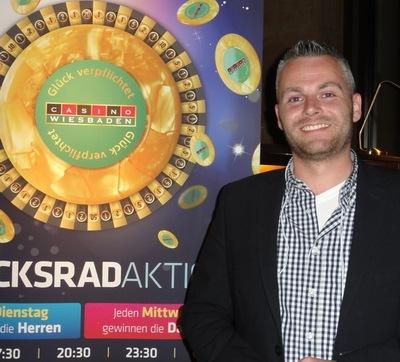 Der glückliche Sieger Björn Blossey