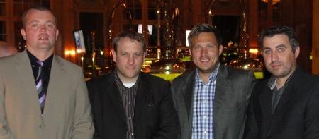V.l.n.r.: Michael Maus (3) – Daniel Matissek (2) – Marcus Engelmann (4) – Jorge Dos Santos (1)