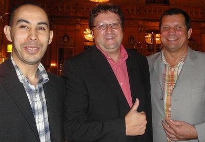 Abed Hamri (2) – Dieter Christmann (1) – Wolfgang Werft (3)