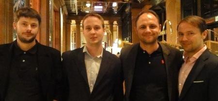 Adrian Ehrlich (3) – Mathias Karweta (1) – Mark Eiermann (4) – Thomas Adam (2)