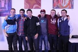 """Sehen brav aus, spielten wild auf: """"Nerds Gone Wild"""" sind die Sieger des Poker Team Cup 2011. (Foto: Casino Erfurt)"""