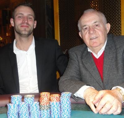 Christian Stangl (2) und Albert Ushky (1)
