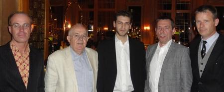 V.l.n.r.: Thomas Kiessler (5) – Albert Ushky (4) – Lucas Schmutzer (1) – Konstantin Novoa (2) – Markus Rietbrock (3)