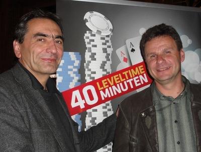 Thomas Kazemich (1) und Holger König (2)
