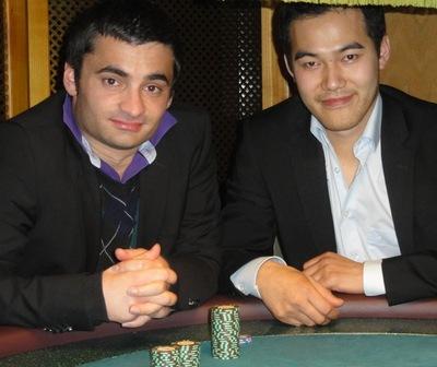Wolfgang Streb (1) und Somphong Daoheuang (2)