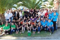 Die Teilnehmer der diesjährigen Merkur Trendy Challenge 2011 auf der Sonneninsel