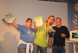"Das Siegerteam ""Come Inn"" aus Oberkirch"