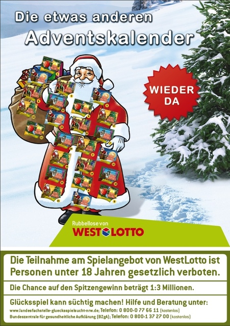 Westlotto Adventskalender
