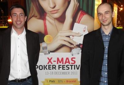 Markus Schneider (1) und Jonas Richter (2)