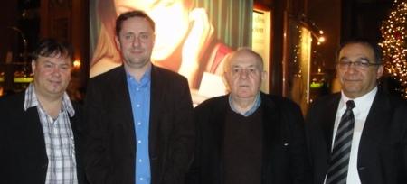 vlnr.: Joachim Wachholz (3) – Alexander Krause (1) – Albert Ushky (4) – Arssalan Rahmani (2)