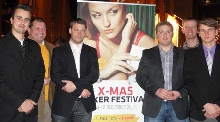 V.l.n.r.: Michael Ende (7) – Wolfgang Werft (5) – Sven Bockheiser (2) –  Nick Korts (1) – Ralf Werner (4) – Sebastian Reetz (3)