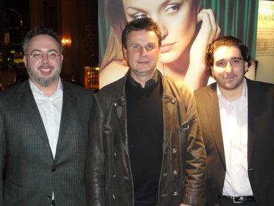 Die letzte X-Mas-Schlacht ist geschlagen: Igor Basic (4), Holger König (2) und Cem Yilmaz (3)