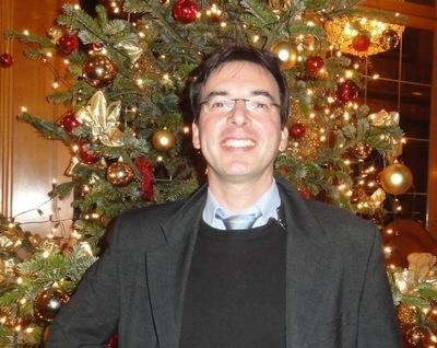 Der strahlende drittplatzierte Richard G. im weihnachtlichen Glanz