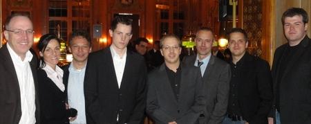 V.l.n.r.: die Eltern von Tim Dinger – Nikolaus Bettinger (6) – Tim Dinger (2) – Markus Retter (1) – Freunde von Markus Retter