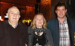 Albert Ushky (1), Carmen Ushky (2) und Marco Reitz (3)