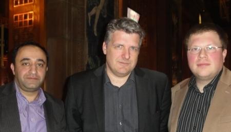 Melki Bilgic (2), Vinko Dundovic (1) und Bernd Schmidt (3)