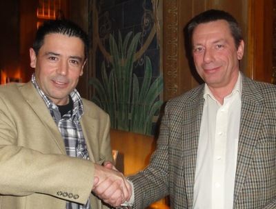 Der Drittplatzierte mit Konstantin Novoa (2)