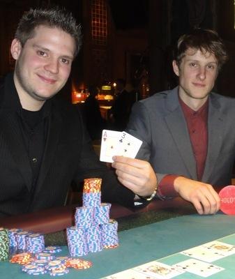 Marc Wilhelm Pastuska (1) und Mindaugas Docaitis (2)