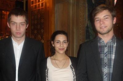 Benjamin Menger (1) – Sophia Salatino (3) – Gabriel Rausch (2)