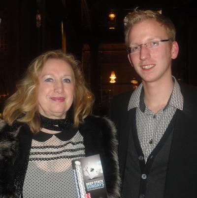 Carmen Ushky (2) und Daniel Friese (3)