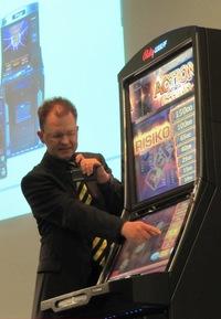 Roger Woerner, Leiter Spieleentwicklung bei Bally Wulff