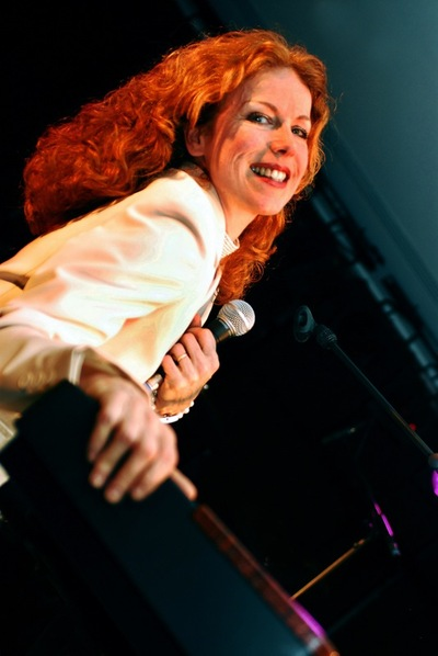 "Die ""Queen of Boogie Woogie"", Anke Angel."