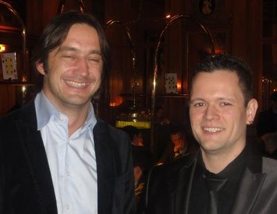Patrick Kutteroff (2) und Ralf Bausch (1)