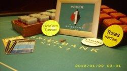 Texas Hold'em, Omaha und sehr abwechslungsreiche Turnierformate locken immer wieder zahlreiche Pokerenthusiasten nach Mainz.