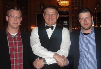 Jochen Rahmer (2) – Dealer Klaus Kusch – Marco Dittmann (1)