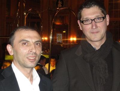 Beytullah Demirel (1) und Thomas Georgi (3)