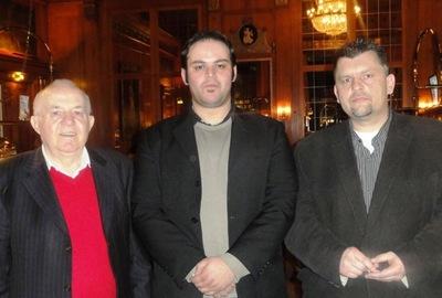Albert Ushky (4), Hakan Yozgat (2) und Uwe Ohnesorge (3)