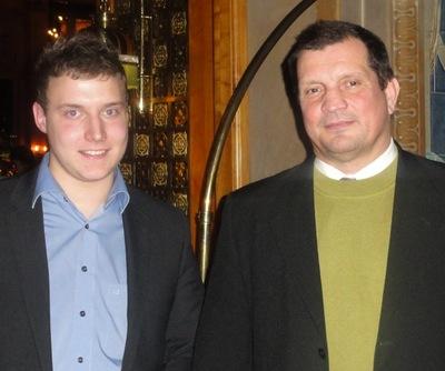 Sebastian Müller (3) und Wolfgang Werft (2)