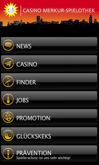 Die neue Casino Merkur-Spielothek-App bietet Informationen und Unterhaltung.
