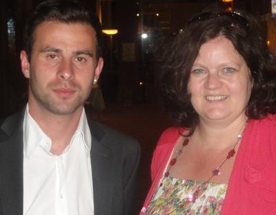 Mustafa Dapar (2) und Nicole Studer (3)