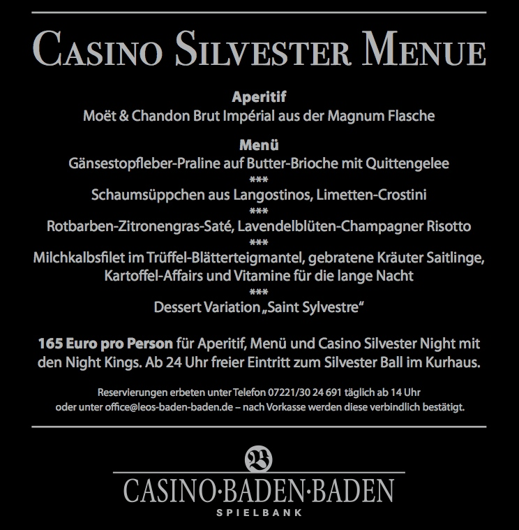 Baden Baden Casino Silvester