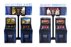 Jackpot Secret Island und Magic Cashpot II als 2er Insel.