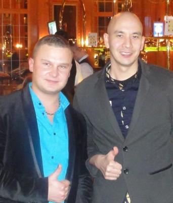 Ivan Gette (2) und Oliver Feldmann (1)