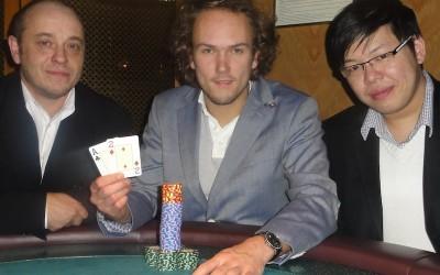 Michael Dürk (2) – der Erstplatzierte – Jay (4)