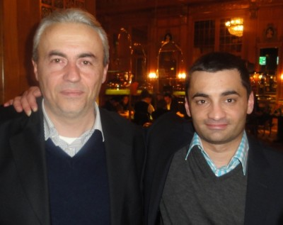 Massimo Saitta (1) und Wolfgang Streb (2)