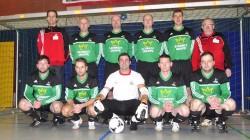 Das Team der Altherrenmannschaft der SG Coesfeld 06 belegte beim eigenen Turnier den 4. Platz. (Foto: Uli Hörnemann)