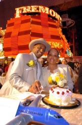 Hochzeit auf der Fremont Street