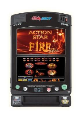 Action Star Fire Xtra - das Spielepaket für die Gastronomie. Das Paket überzeugt durch einen ausgewogenen Spielemix und optimale Flexibilität.