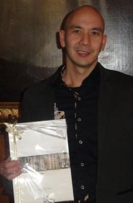 Der Gewinner der Monats-Over-All Oliver Feldmann.