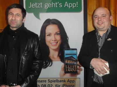 Klaus Perwein (1) und Dirk Gottschling (2).