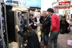 The subsidiaries GeWeTe and edict egaming were also present on the exhibition stand in London.