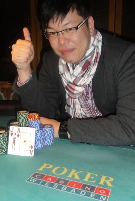 Der glückliche Sieger Jay